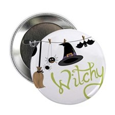 """Witchy 2.25"""" Button"""