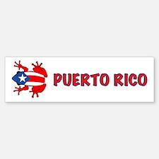 Puerto Rico - PR - Coqui Bumper Bumper Sticker
