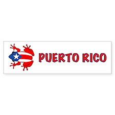 Puerto Rico - PR - Coqui Bumper Sticker