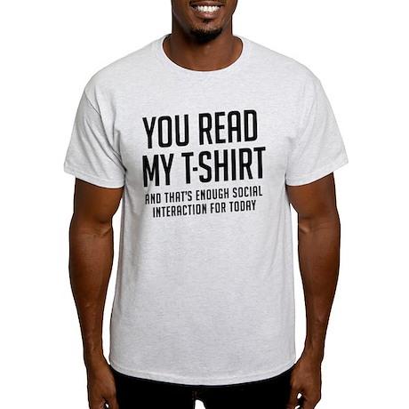 Social interaction Light T-Shirt