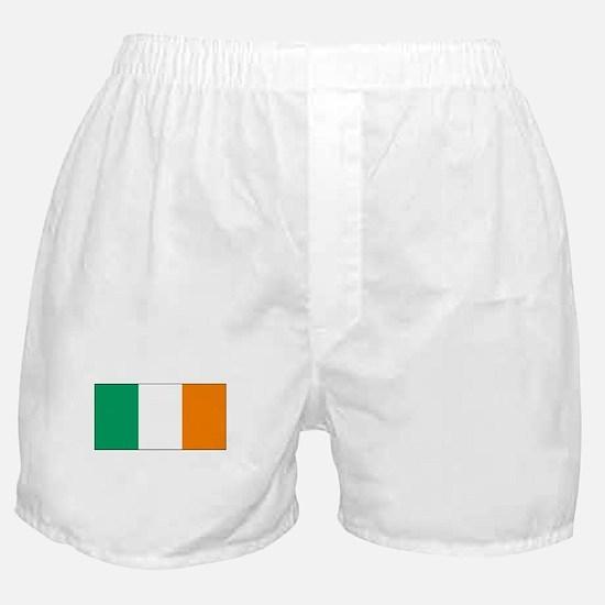 Ireland Flag Picture Boxer Shorts