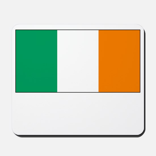 Ireland Flag Picture Mousepad