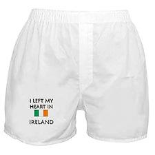 I Left My Heart In Ireland Boxer Shorts