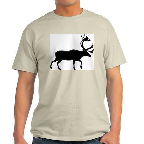 Caribou Ash Grey T-Shirt