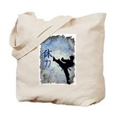 Power Kick Tote Bag
