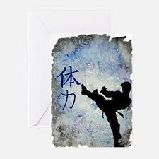 Power Kick Greeting Cards (Pk of 10)