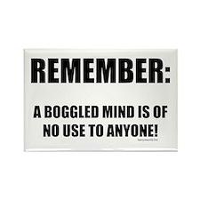 Boggled Mind 1 Rectangle Magnet (10 pack)