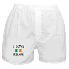 I Love Ireland Boxer Shorts