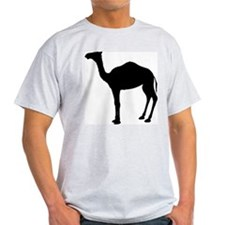 Camel Ash Grey T-Shirt