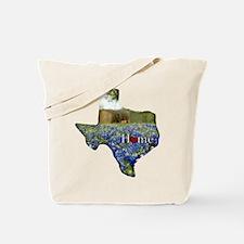 Texas Home Bluebonnets Tote Bag