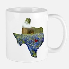 Texas Home Bluebonnets Mug