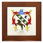 BC Renfest Crest Framed Tile