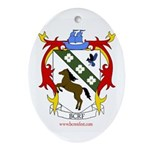 BC Renfest Crest Oval Ornament