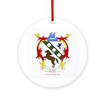 BC Renfest Crest Ornament (Round)