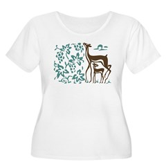Deer in Viney T-Shirt