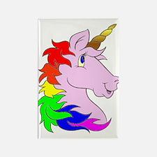 Unicorns Rule! Rectangle Magnet