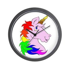 Unicorns Rule! Wall Clock