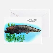 Arapaima Greeting Card