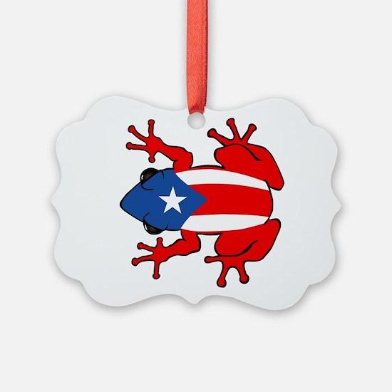 Puerto Rico - PR - Coqui Ornament