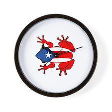 Puerto Rico - PR - Coqui Wall Clock