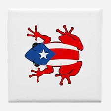 Puerto Rico - PR - Coqui Tile Coaster