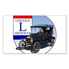 The Lincoln Highway Decal