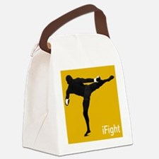 iFight (orange) Canvas Lunch Bag