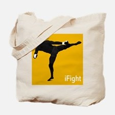 iFight (orange) Tote Bag