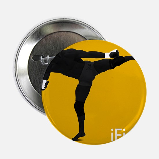"iFight (orange) 2.25"" Button"