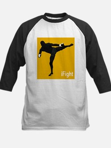 iFight (orange) Kids Baseball Jersey