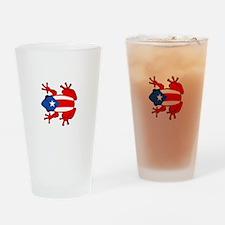 Puerto Rico - PR - Coqui Drinking Glass