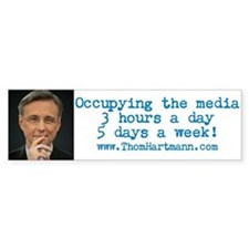 Occupying The Media Bumper Bumper Sticker