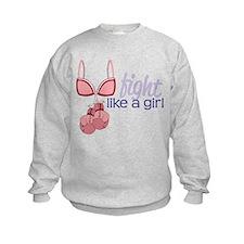 Fight Like A Girl Sweatshirt