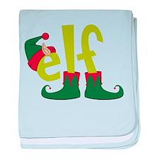 Elf baby blanket