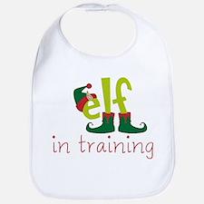 Elf In Training Bib