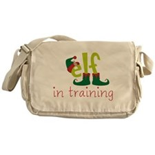 Elf In Training Messenger Bag