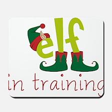 Elf In Training Mousepad