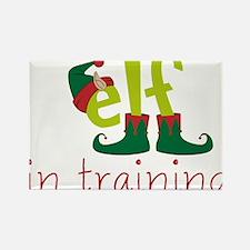 Elf In Training Rectangle Magnet