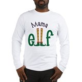 Mom elf Long Sleeve T-shirts