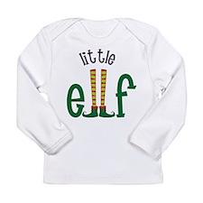 Little Elf Long Sleeve Infant T-Shirt
