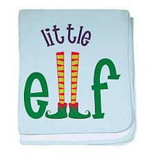 Little Elf baby blanket