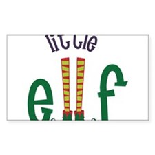 Little Elf Decal