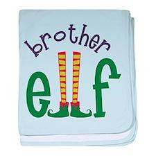 Brother Elf baby blanket