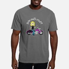 Biker Girl Mens Comfort Colors Shirt