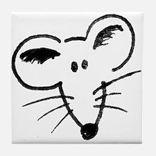 Cute Fancy rats Tile Coaster