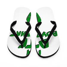 DTF recycle Flip Flops