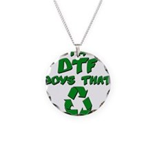 DTF recycle Necklace