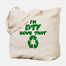 DTF recycle Tote Bag