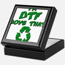 DTF recycle Keepsake Box