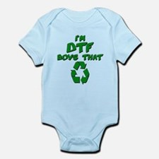 DTF recycle Infant Bodysuit